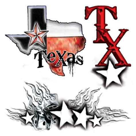 texas state tattoo designs flower designs picturestattoo designs