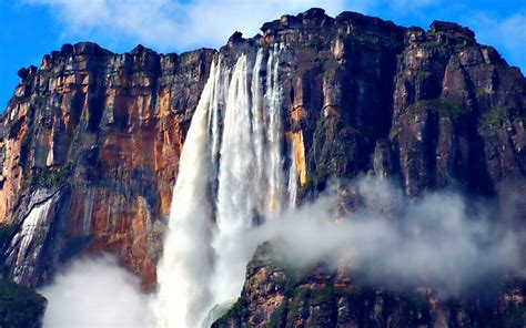 imagenes venezuela hd angel falls height 979 m location auyantepui canaima