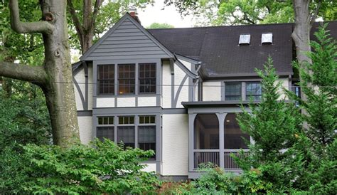 tudor house conversion traditional exterior dc metro tudor style addition in chevy chase traditional
