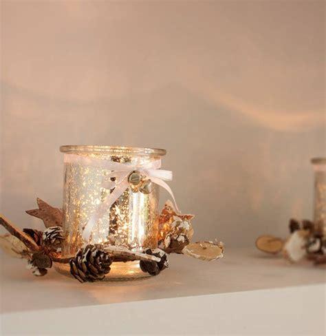 pine cone tea light holder silver glass tea light holder with pine cone trim by ella