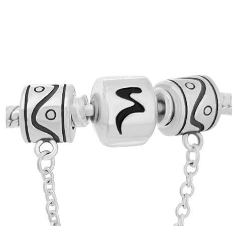 cadenas de segurodad pandora cadena de seguridad yin y yang compatible con pulsera pandora