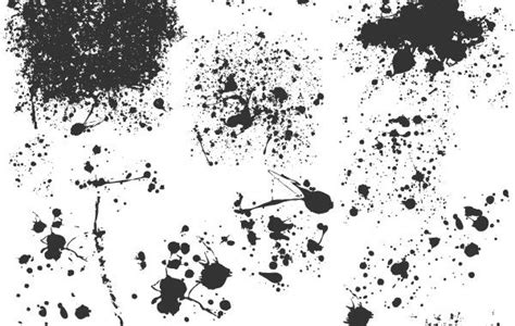 vector grunge tutorial illustrator splats illustrator vectors vector download