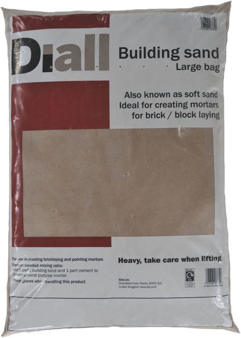 diall building sand departments diy  bq