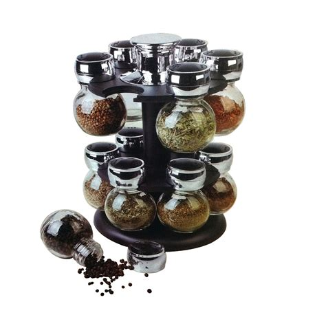 Spice Racks With Spices Included by 12 Jars Spice Rack Set