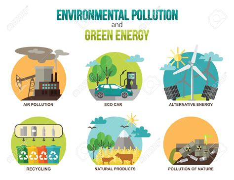design for the environment includes all the following except cars and air pollution vector illustration clipart