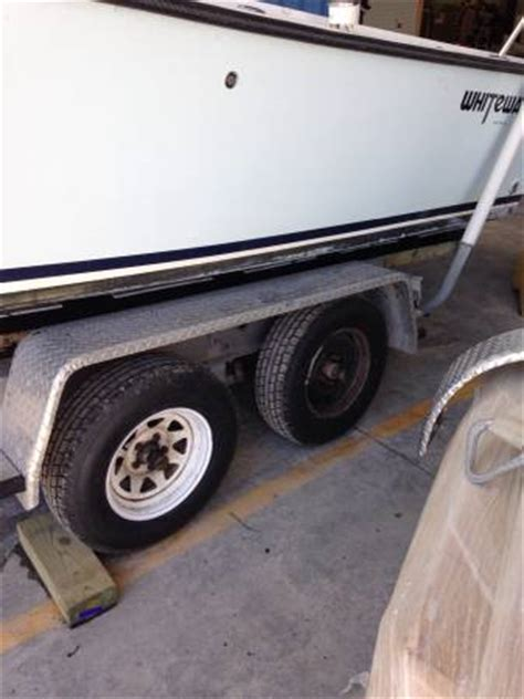 used boat trailers for sale in eastern nc used 25ft tandem axle boat trailer 1200 the hull truth