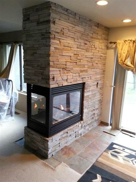 brick with peninsula fireplaces hearth and home