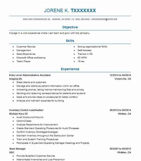 cover letters for administration 15 best entry level