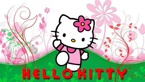 hello kitty cool wallpaper hello kitty wallpaper and background image 1360x768 id