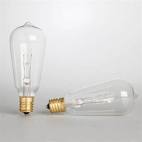Gerson 20305 7 Watt 120 Volt St40 Intermediate Screw Replacement Bulbs For String Lights