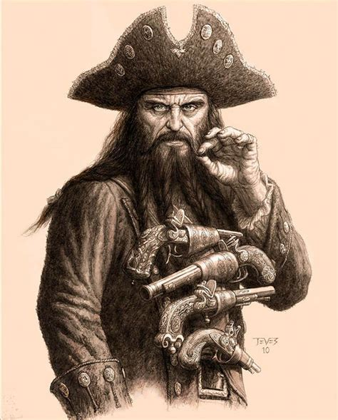 blackbeard tattoo 1393 best images about pirate things on