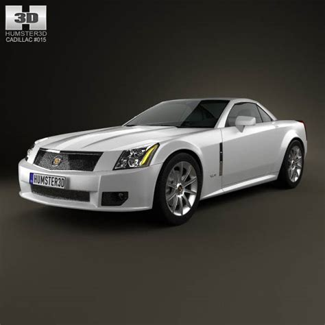 how to learn about cars 2009 cadillac xlr v parking system cadillac xlr 2009 3d model hum3d