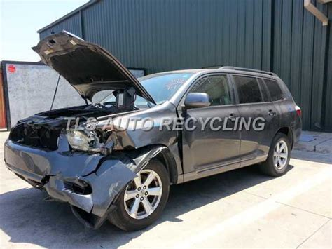 toyota highlander parts parting out 2008 toyota highlander stock 3070yl tls