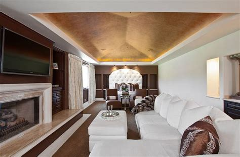 Tray Ceiling Ideas Living Room Glamorous Lighting Ideas That Turn Tray Ceilings Into