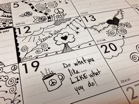 doodle in calendar planet clare and doodles
