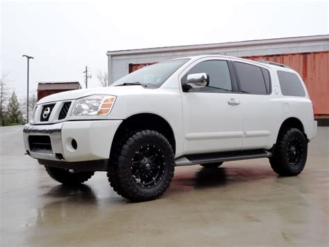 custom lifted nissan armada 2017 customer review of new nissan armada lift kit sport