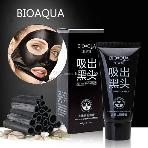 Bioaqua Mask quality bioaqua brand black mask blackhead remover cleansing purifying peel acne black