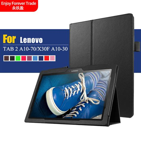 New Arrival 178 10 1 new arrival litchi pu leather flip cover for lenovo tab 2 a10 70 tab2 a10 70f a10 30