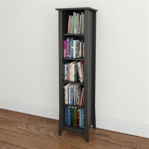 bookcase with adjustable shelves 187 top 15 narrow bookshelf and bookcase collection