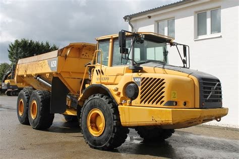 volvo rock trucks volvo a 25d rigid dumper rock truck from for sale
