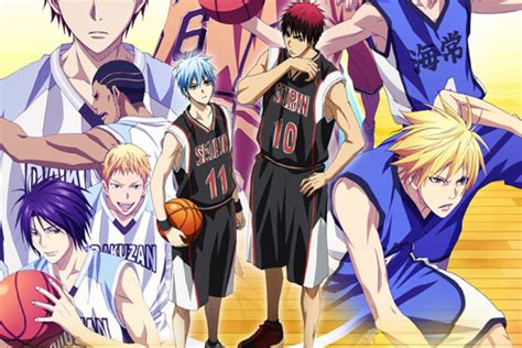 anime consortium japan to stream new 2015 season of kuroko