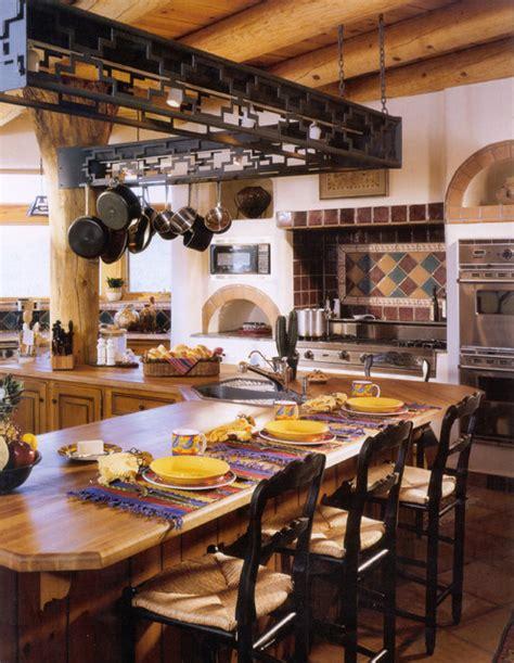 interior decorators prescott az prescott az mud adobe santa fe style traditional kitchen