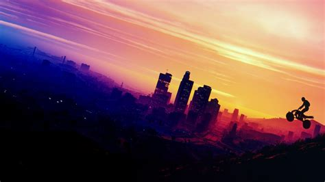wallpaper grand theft auto  los santos hd  games