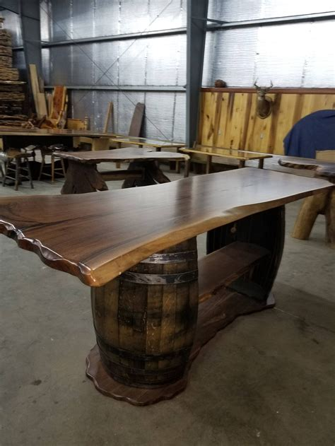 edge whiskey barrel bar sold   whiskey