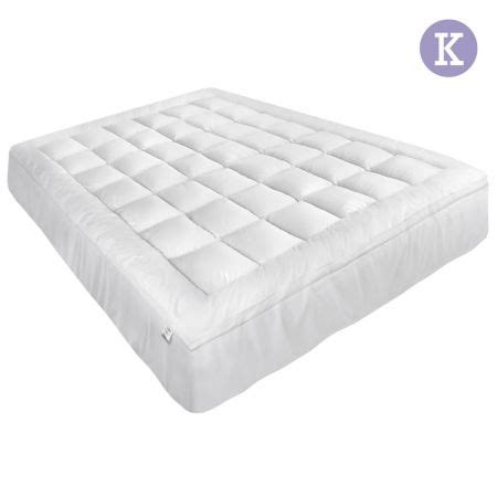 Mattress Topper Cover King Pillowtop Mattress Topper Memory Resistant Protector Pad Cover King Sales