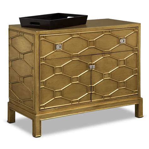 Gold Bar Cabinet Cabinets Storage American Signature Furniture