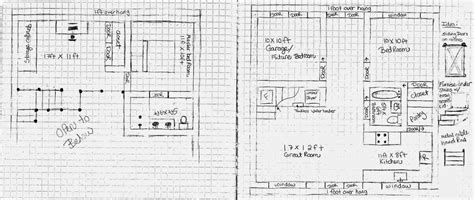 how to draw a floor plan by hand homemade quonset reshaping the box home made quonset