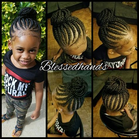 hairstyles plaited children little girls feedin braids by divawithhustle