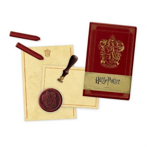 outlander deluxe stationery set books booktopia harry potter gryffindor deluxe stationery set