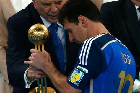 2014 world cup golden ball winner did lionel messi six reasons we re glad that lionel messi won the golden
