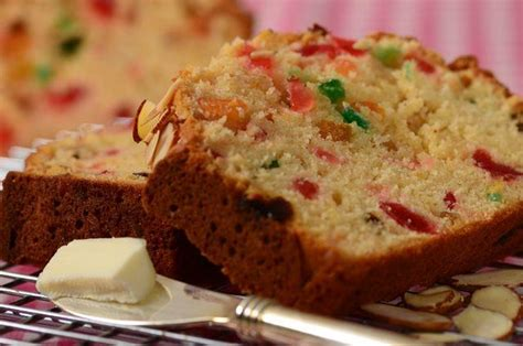Light Fruit Cake Recipe Joyofbaking Com Video Recipe Light Fruit Cake