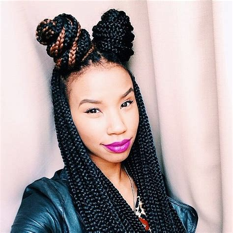 how to put your box braids in a bun inspiration on how to wear your box braids