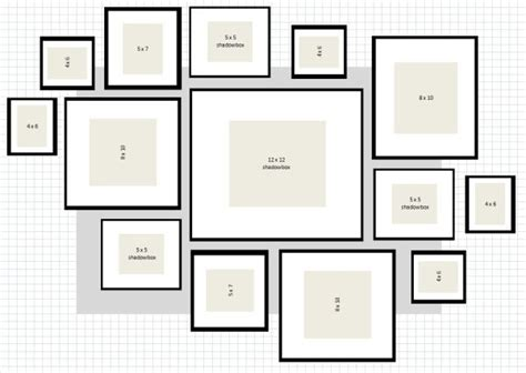 poster wall layout picture wall layout ideas how to ikea ribba frame
