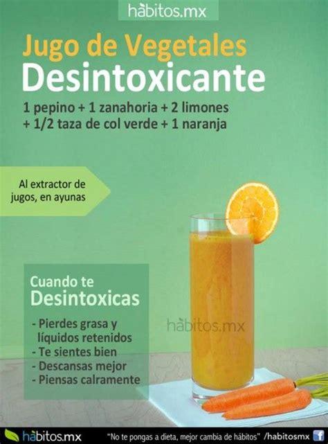 Jugo Verde Detox De Las Famosas by Jugo Para Desintoxicar El Organismo Smoothies
