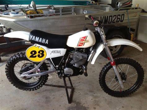european motocross bikes 1981 yamaha yz465 european version vintage dirt