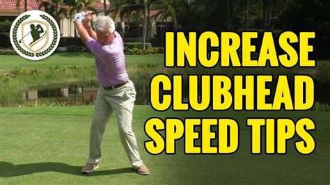 how to determine golf swing speed golf swing tips how to increase club head speed youtube