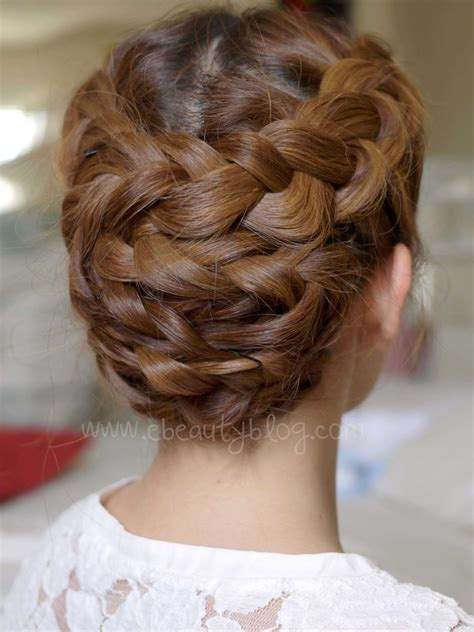updos in braids ebeautyblog com hair tutorial summer braided updo