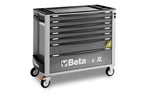 Beta Tool Cabinet by Beta Tools C24sa Xl7 G Roller Cabinet 7 Drawers Grey
