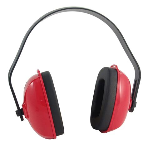 Red Home Decor Accessories by Bilsom Qm24 174 Ear Muffs