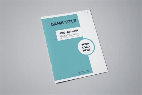 game design proposal high concept game document template lauren hodges