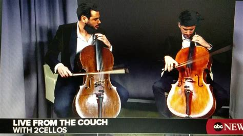 live from the couch 2cellos live from the couch youtube