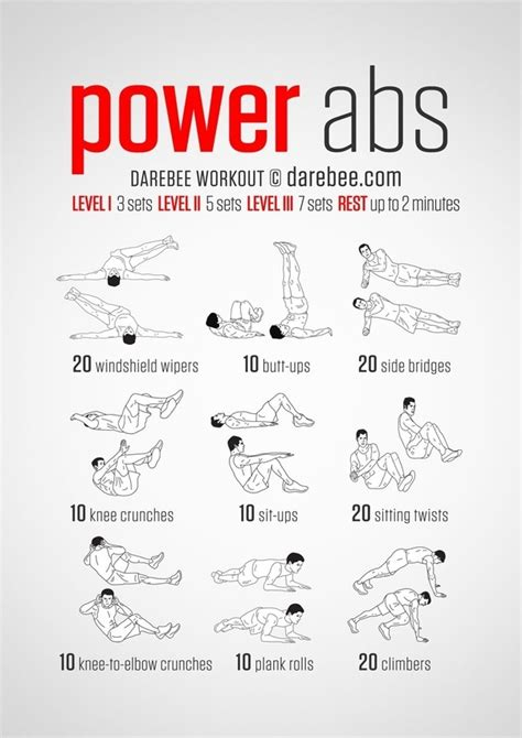 ab workouts  home
