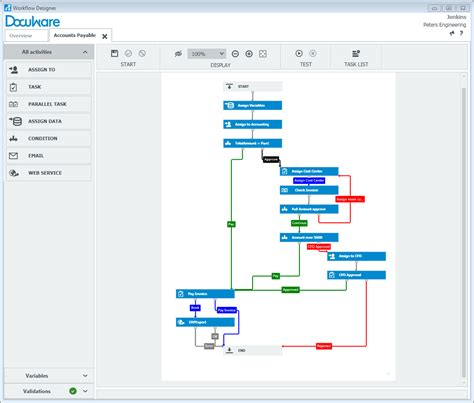 workflow creator docuware workflow manager