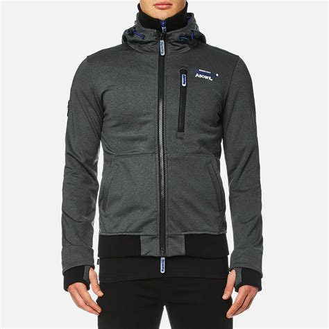 Stussy Ziphood Size S Lyst Superdry Ascent Ziphood Jacket In Black For