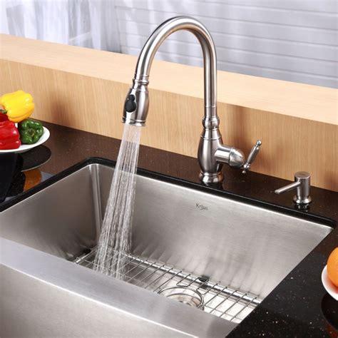 kraus khf200 33 kitchen sink build