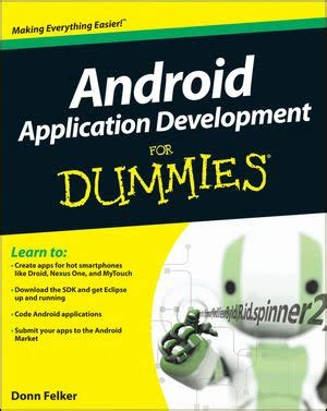 android for dummies top 5 android application development books